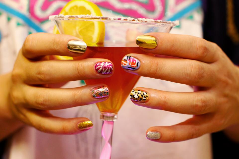 Those who know the Grace girls will be well aware that we LOVE fun nail polish and cute nail designs!  We adore these nails by I Scream Nails!  Image from their Facebook Page