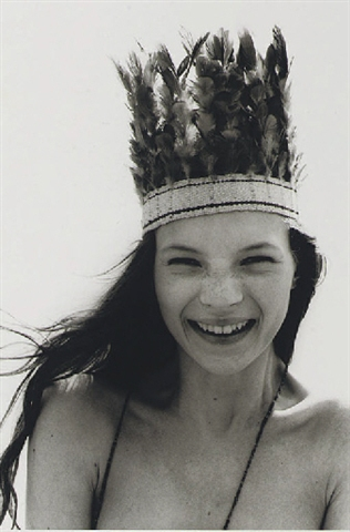 Young Kate Moss by Corinne Day
