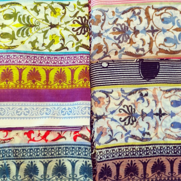 Limited edition Epice X Grace scarves - 100% cotton and in five different colour ways. Too hard to choose between them!