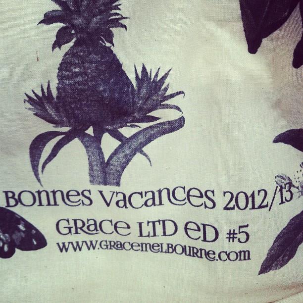 Bonne Vacances 2012/13! (at Grace)