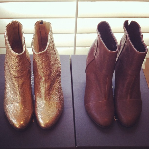 New Rag & Bone Newbury boots just arrived - these may just be our favourite colours so far!!