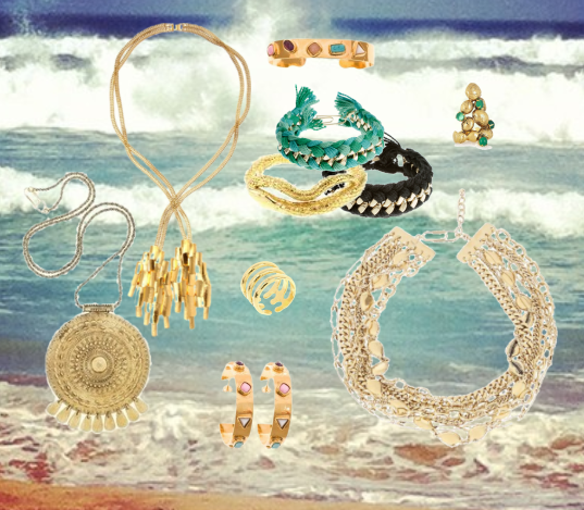 All that glitters… Perfect gold jewellery for Summer (or a beach holiday!) - Aurelie Bidermann's new collection is in-store now!
