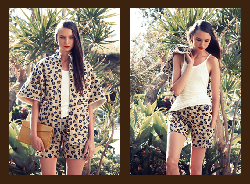Double leopard A.P.C. as featured on The Decorum! Love these pieces styled together - in-store at Grace now!