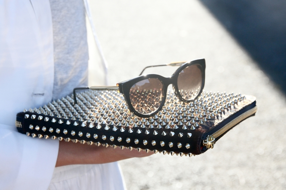 Thierry Lasry's 'Lively' sunnies - spotted on Australian blog shinebythree.  In-store at Grace now!