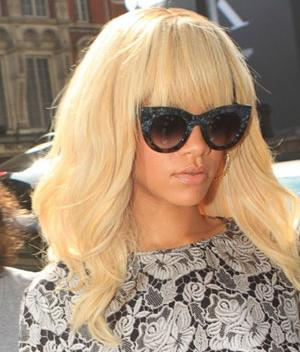 Rihanna in Thierry Lasry's 'Orgasmy' shades - statement sunnies, anyone?