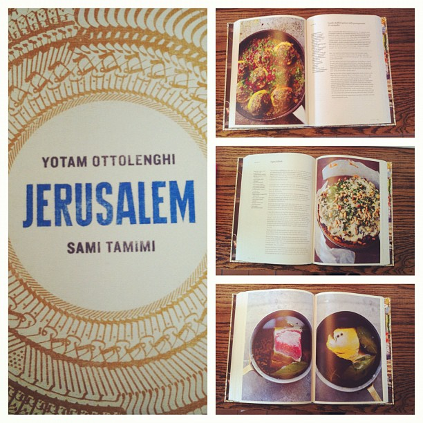 It is safe to say that Ottolenghi's Jeruselum is our new favourite cookbook - absolutely delicious, easy-to-make recipes and beautiful images. (Taken with Instagram at Grace)