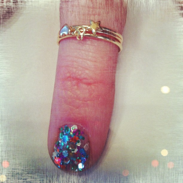 Pretty new Catbird rings just arrived… All the way from NYC! (Taken with Instagram at Grace)