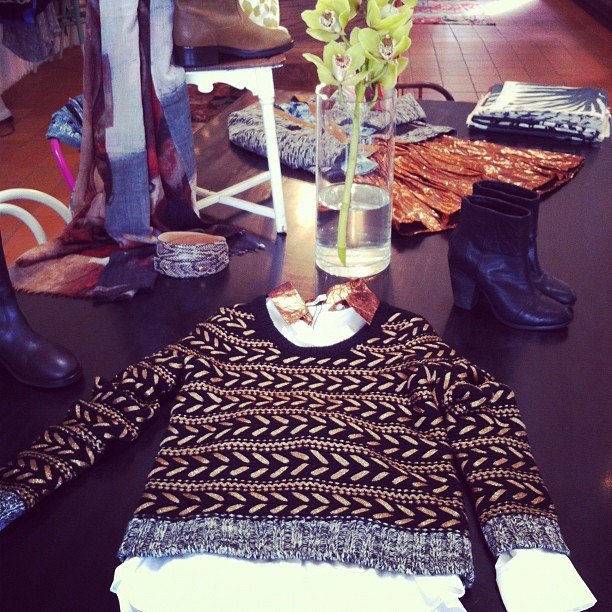 Gorgeous new things on our display table - Spring is finally here! (Taken with Instagram at Grace)