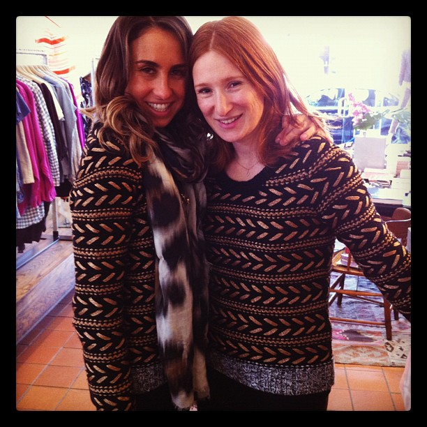 Can you tell that we love this Rag & Bone knit??  (Taken with Instagram at Grace)