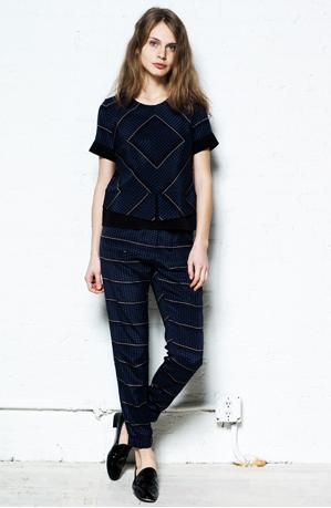 Who says it's not cool to match? The perfect pant-top combination from our newest label, SEA!