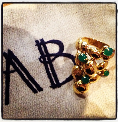 Aurelie Bidermann's 'Cite D'or' Ring - We have fallen hard for Aurelie's new collection!