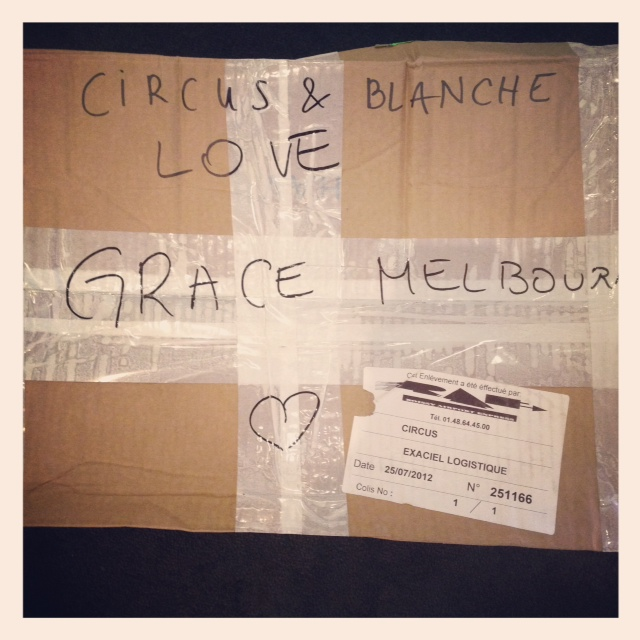 New label to GRACE… We love you too Blanche!