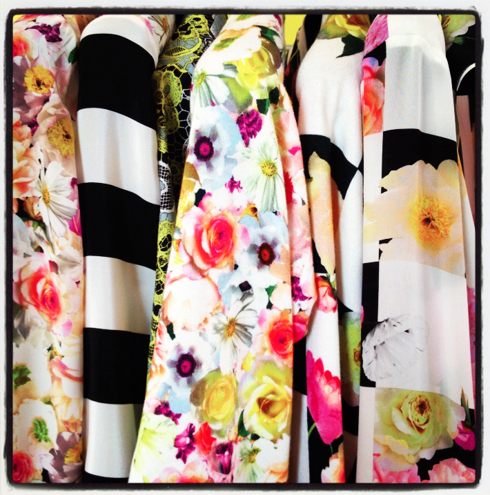 A sneak peek of things to come… at the MSGM showroom in Milan. Have you ever seen more divine colours in one image?