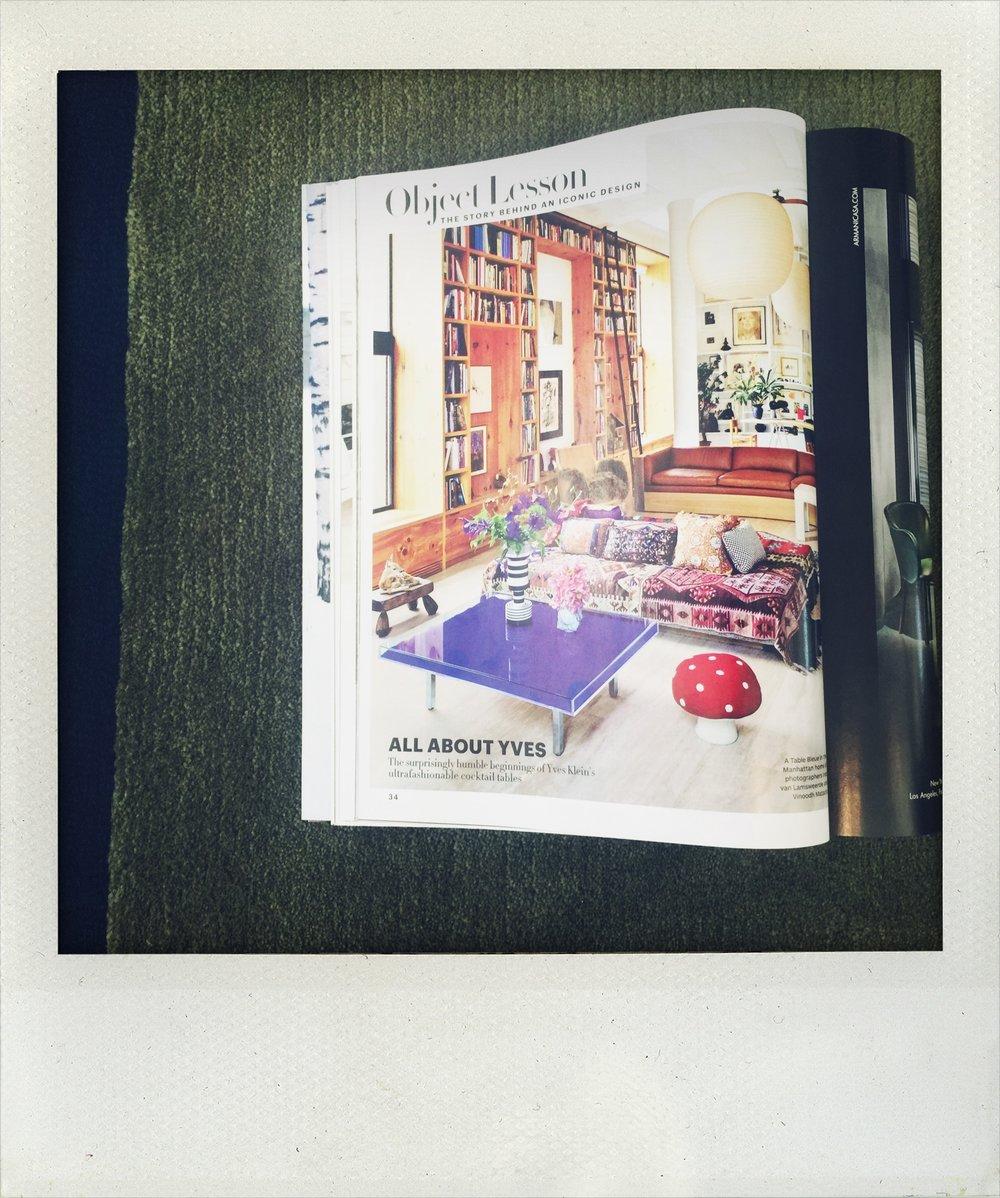 Inez van Lamsweerde & Vinoodh Matadin's stunningly eclectic Manhattan loft - Architectural Digest Dec 2016