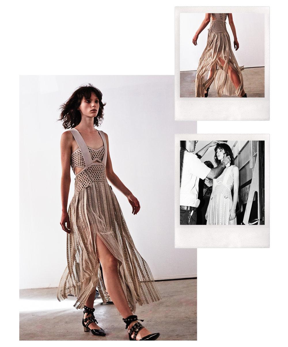 Avery Midi Dress $628