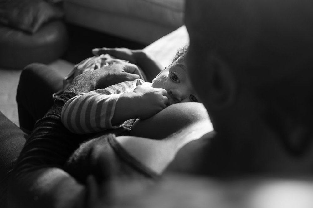 Toddler breastfeeding - Slice of Love Photography - East Bay Family Photographer