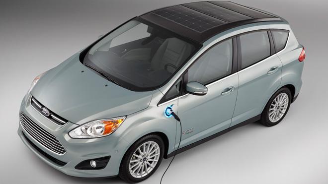 Ford CMAX Solar Hybrid