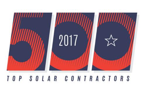 Top Solar Contractors 2017