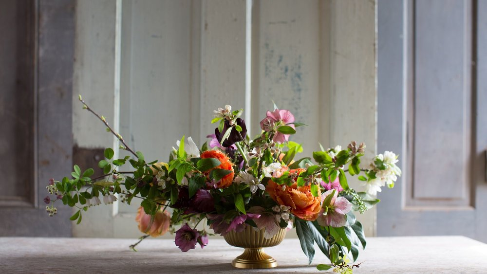 Let Modern West Floral Company elevate your space by providing beautiful, seasonal arrangements for your home, office, storefront, or eatery. - Always fresh, always with the seasons.