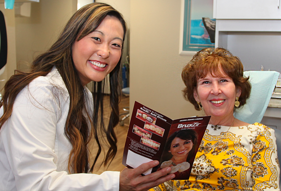 Dr. Shanna Chirco loves talking dentistry with patients of her Los Alamitos Dental Office