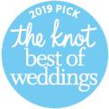 The Best of Weddings 2019 Badge