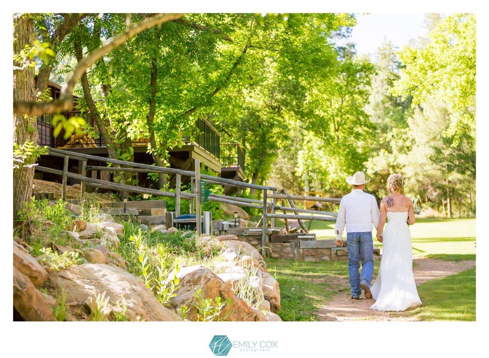 Kohl's Ranch Wedding   Payson, Arizona