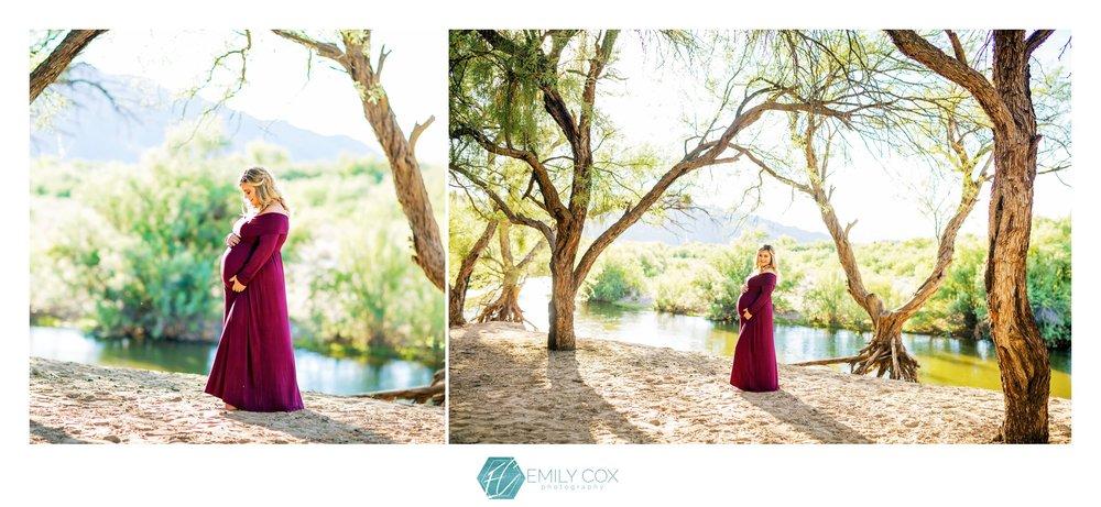 Arizona Maternity Photographer | Salt River Maternity