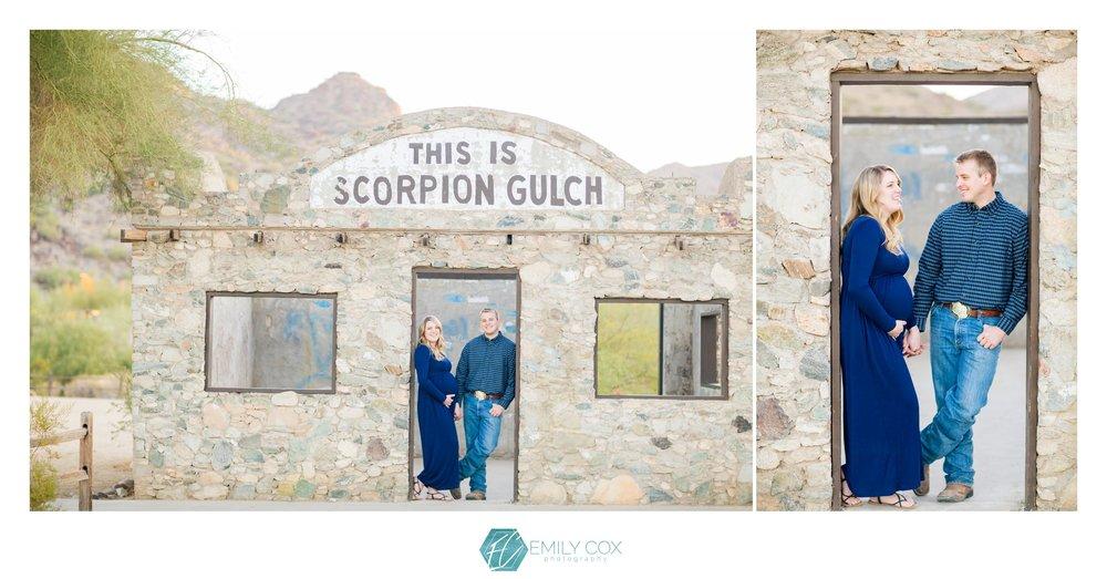 Arizona Desert Maternity | Scorpion Gulch