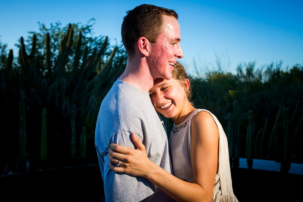 Surprise Engagement | Desert Botanical Gardens