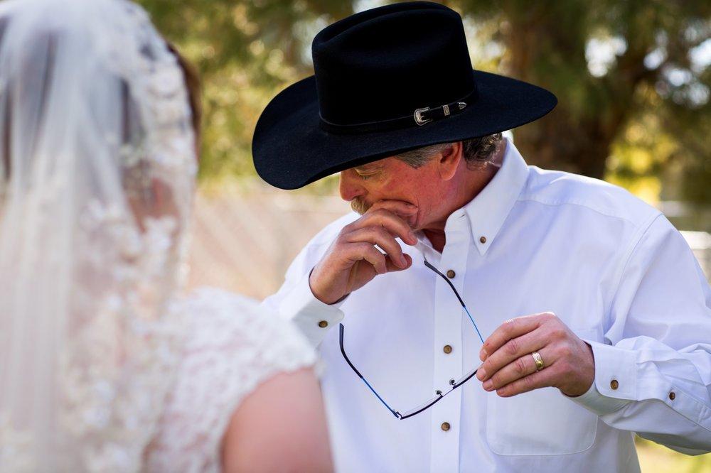 Waddell Wedding   Western Inspired