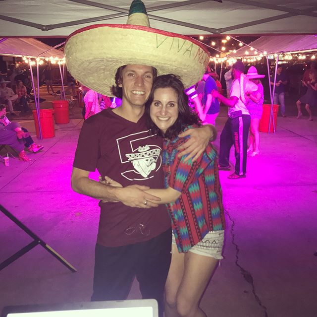 Haley graduated and then we had a fiesta! Third time was a charm 🇲🇽🎉🎨🎪🌮☀️🌻🌻🌻#moredegreesthanme