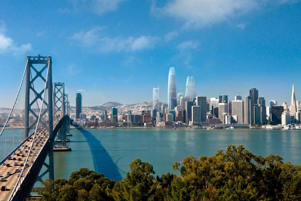 San Francisco Skyline View | First + Mission Towers