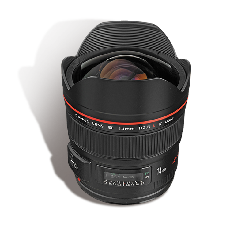 CANON 14 mm f/2.8 L INR 1200/Day