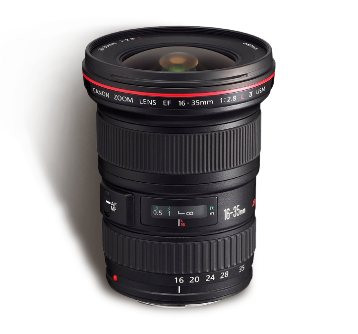 CANON 16-35 mm f/2.8 L INR 1000/Day
