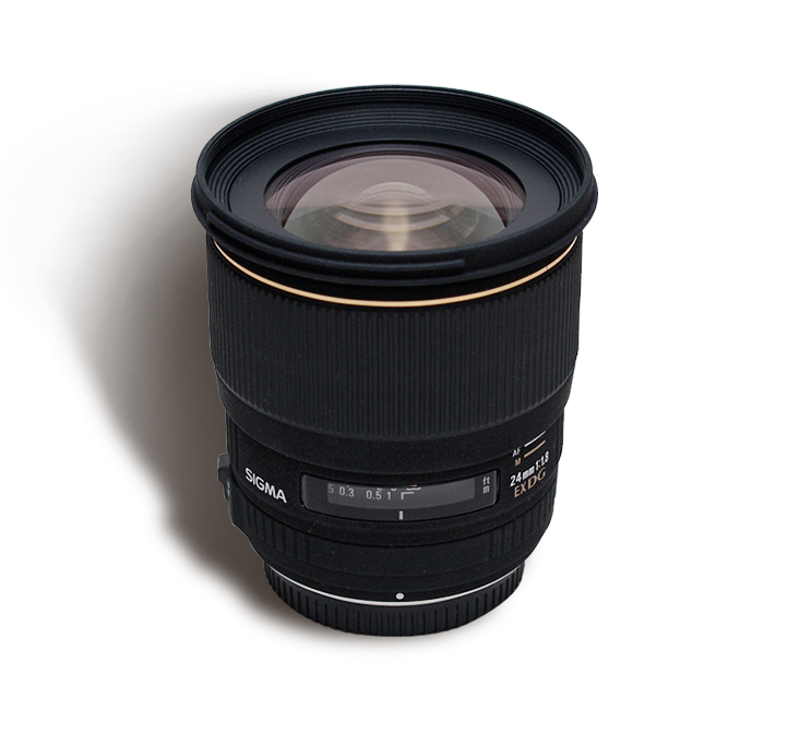 SIGMA 24 mm f/1.8 MACRO INR 600/Day