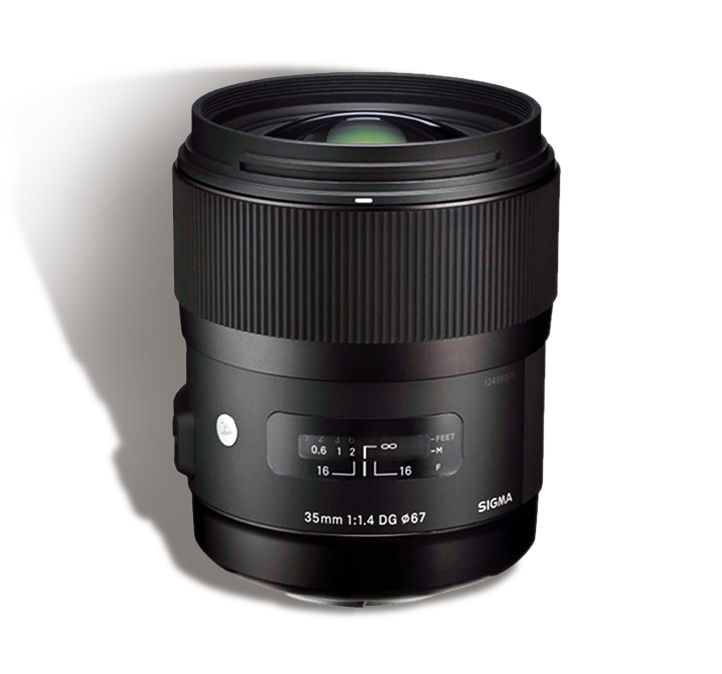 SIGMA 35 mm f/1.4 INR 1000/Day