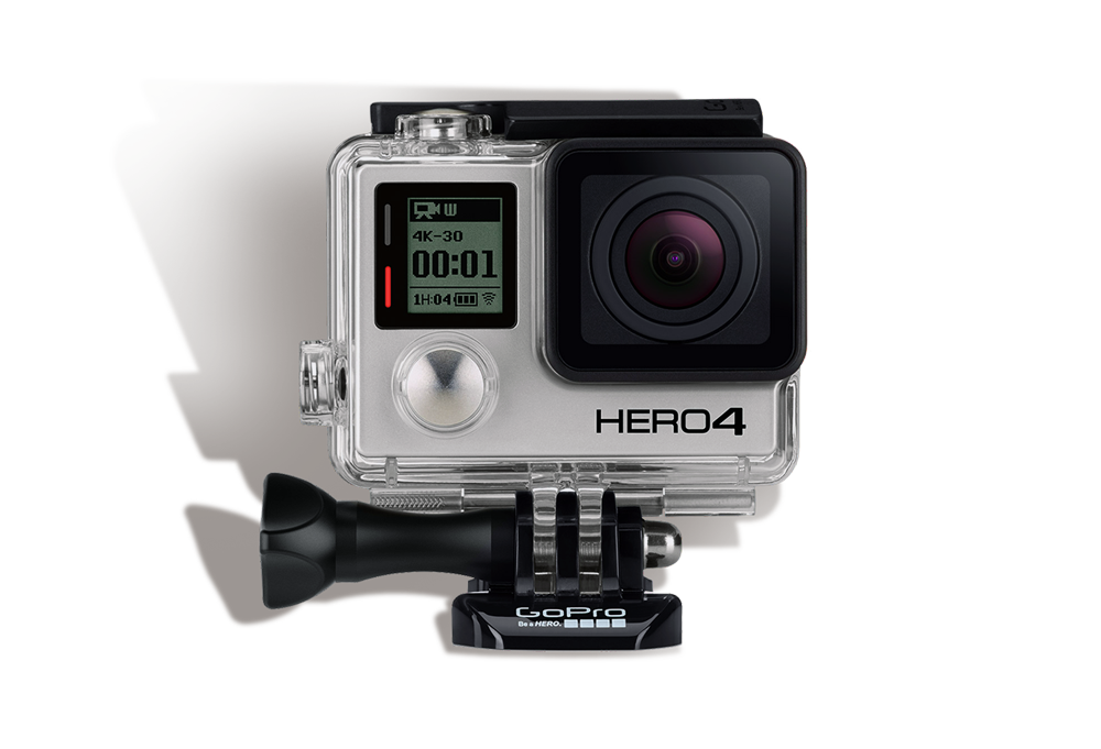Go Pro Hero 4 Black Edition               INR 1200/Day