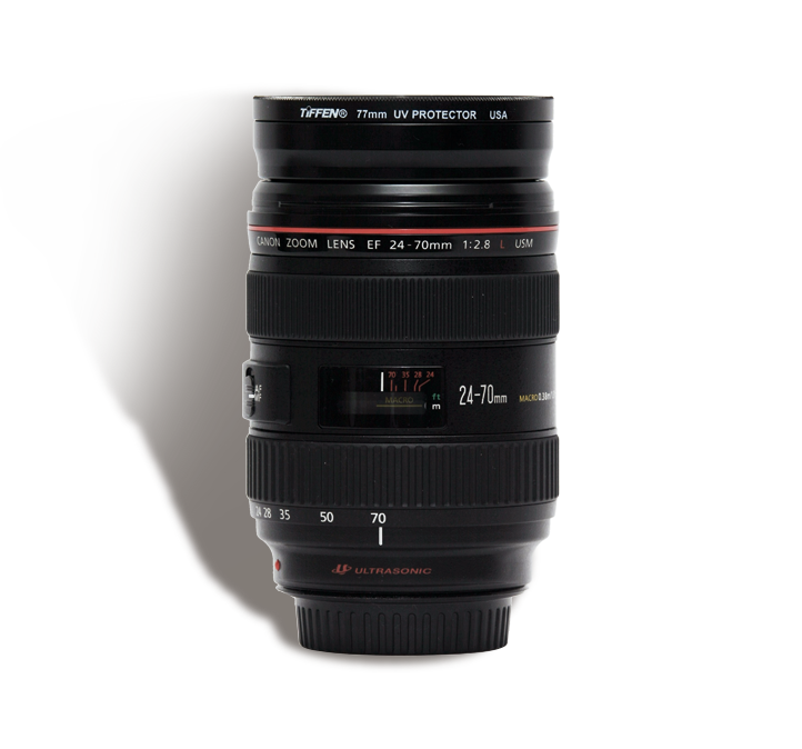 CANON 24-70 mm f/2.8 L  INR 1000/Day