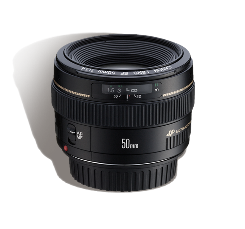 CANON 50 mm f/1.4 L INR 800/Day