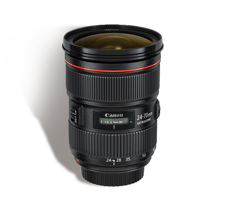 CANON 24-70 mm f/2.8 L II INR 1200/Day