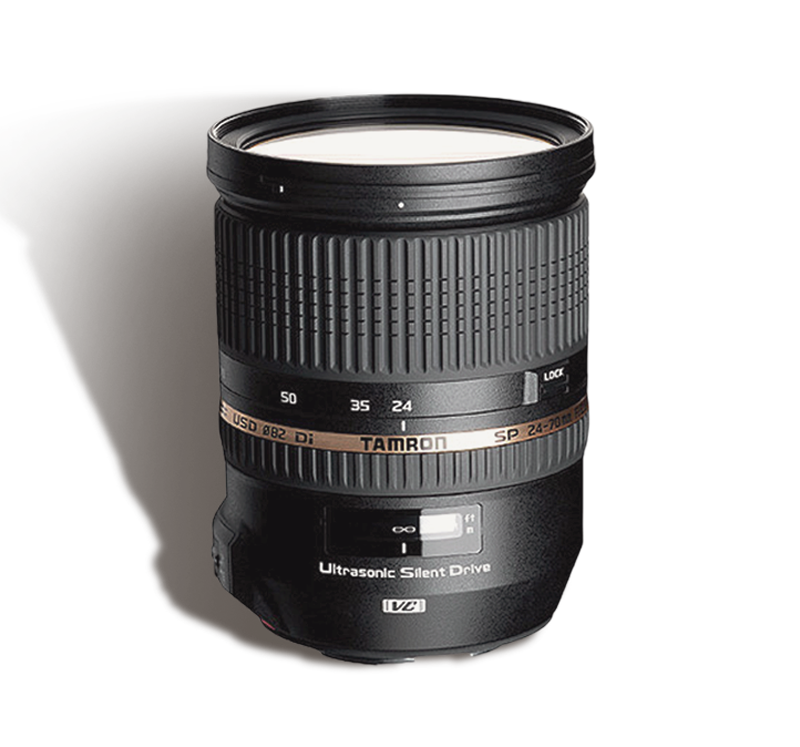 Tamron 24-70 mm f/2.8 VC  INR 800/Day