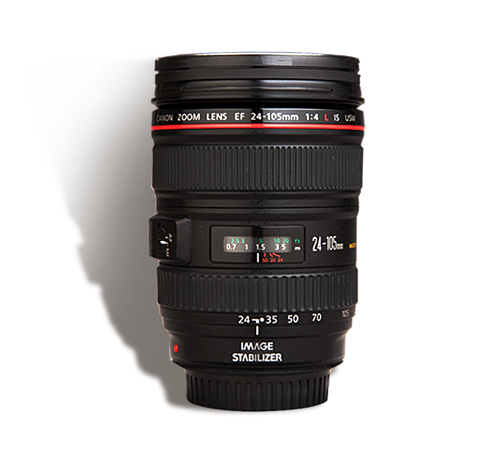 CANON 24-105 mm f/4 L  INR 800/Day