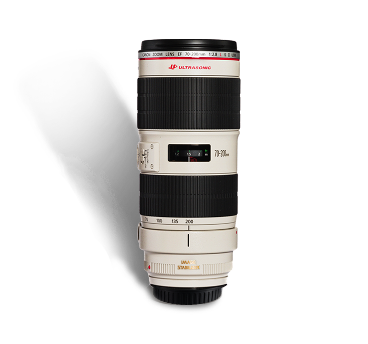 CANON 70-200 mm f/2.8 L IS II  INR 1400/Day