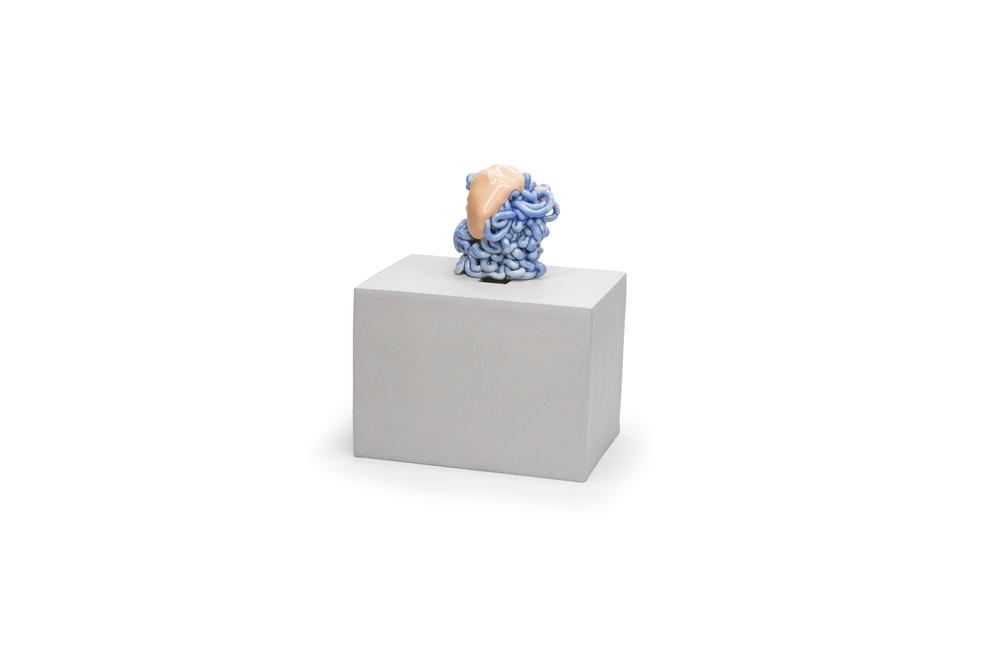 Pool Object 3: ceramic, multiple firings, 2017.