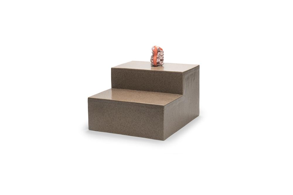 Pool Object 5: ceramic, multiple firings, 2017.