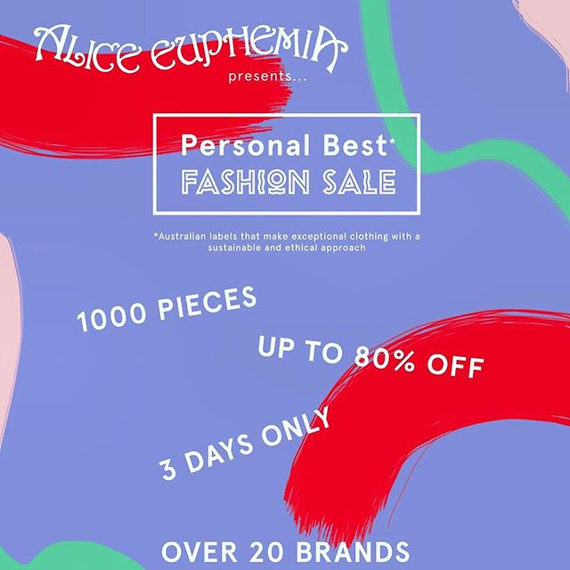 SALE STARTS TODAY ** HUGE DISCOUNTS ** 3 DAYS ONLY ** BRANDS include @celestetesoriero @limbthelabel @karlaspetic @tluxenaturalliving @radicalyes @thefabricsocial @erik_yvon @loishazel @lara_pallini @belmoreaustralia @__houseofcards @ok_ok_sox @timtropp AND MORE