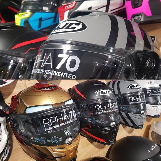 Neue 2018 Rpha70 Dekore sind da #HJC #elmoto Motorradshop Neu-Ulm