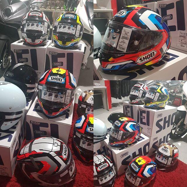 Neue Shoei Helme sind eingetroffen #shoei #elmoto #Motorradzubehör