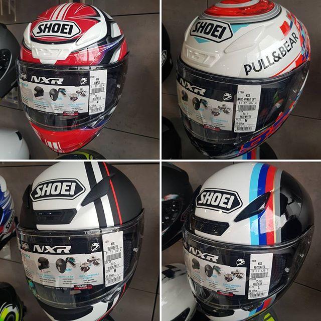 Die neue 2018 Shoei Kollektion ist da #shoei #nxr Helmet #Motorradzubehör Laden