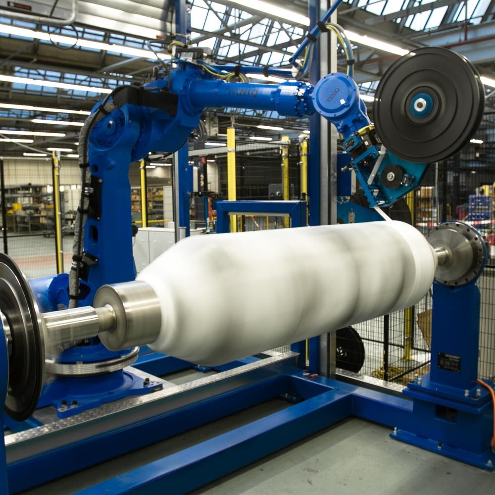 robotic winding taniq
